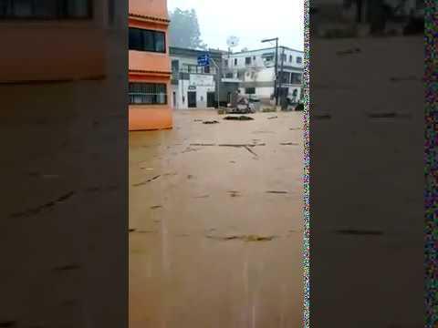 Tromba d'água em Iconha - ES