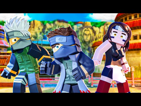 Who's Your Family? O FILHO DO KAKASHI VIROU O NOVO HOKAGE no Minecraft!