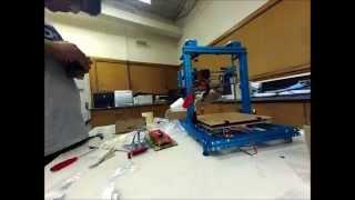 Makeblock Constructor 3d Printer Time Lapse Build