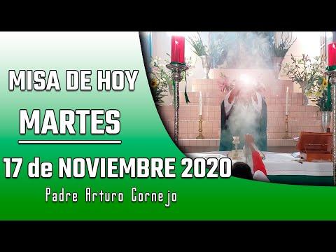 MISA DE HOY martes 17 de noviembre 2020 - Padre Arturo Cornejo