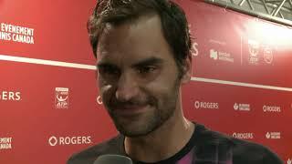Roger Federer Interview Finalniederlage Alexander Zverev - Rückenprobleme [schwiizerdütsch ]