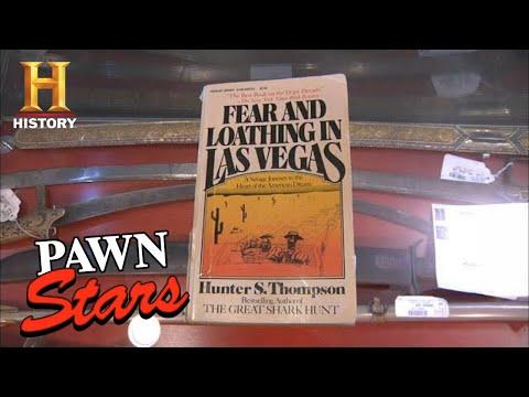 Pawn Stars: FEAR & LOATHING Autograph Has a CRAZY Origin Story (Season 8) | History