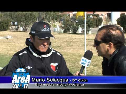 Palabras de Mario Sciaqua acerca de la defensa de Colón