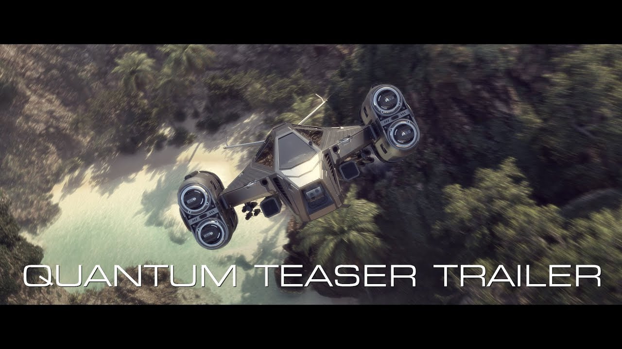 Quantum Teaser Trailer (Christian sci-fi series)
