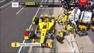 2016 Indianapolis 500: Last 50 laps/ Post race interviews