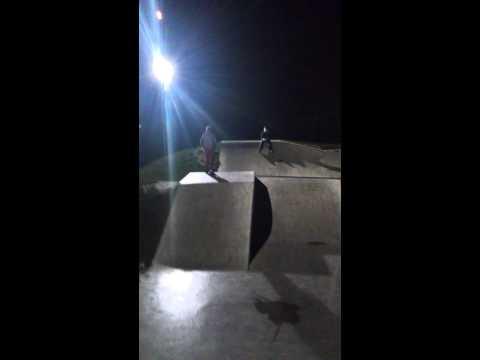 Matthew at the skate park