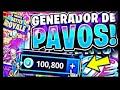 NUEVO HACK DE GENERADOR DE PAVOS EN FORTNITE BATTLE ROYALE GRATIS 2018 | DIA 2