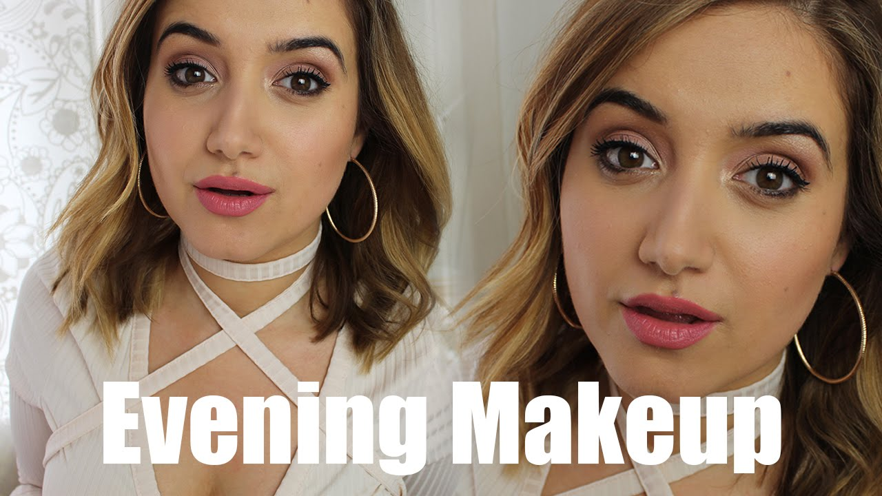 Pink Evening Makeup | A Little Obsessed