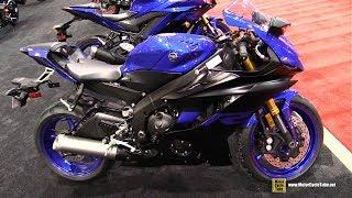 7. 2019 Yamaha YZF R6 - Walkaround - 2019 Quebec Motorcycle Show