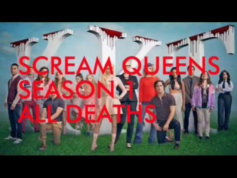 Scream Queens-Season 1 All Deaths