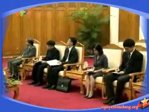 Thủ tướng Nguyễn Tấn Dũng tiếp bộ trưởng tư pháp Campuchia.