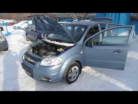 Chevrolet Aveo 2007 г.в. (видео)