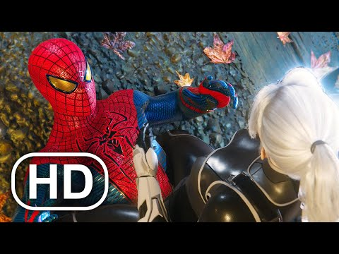 The Amazing Spider-Man Vs Black Cat Fight Scene 4K ULTRA HD - Spider-Man Remastered PS5