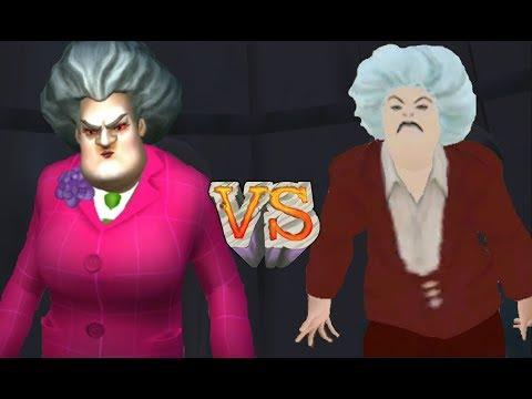 ► Scary Teacher 3D vs My Scary Teacher Haunted House Games