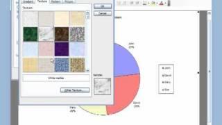 Microsoft Excel 2003 Basic 6 (Pie, Column Chart)