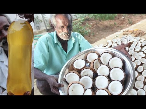 Home made INSTANT COCONUT OIL / Using 100 Coconuts