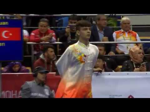 Necmettin Erbakan Akyüz 14. Dünya Wushu Şampiyonası XİNGYİQUAN performansı.