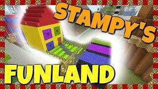 Stampy's Funland - Snow Throw