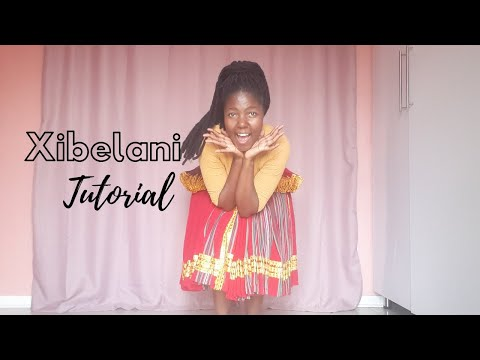 Tsonga dance tutorial | Xibelani | SA YouTuber