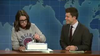 Tina Fey #sheetcake on @SNL