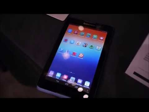 Lenovo Tab A7 hands-on