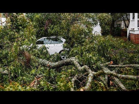 Ο τυφώνας Φλόρενς σαρώνει τη Βόρεια Καρολίνα