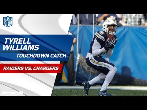 Video: Philip Rivers Airs it Out to Tyrell Williams for 56-Yd TD! | Raiders vs. Chargers | NFL Wk 17