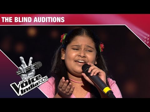 Sneha Shankar Performs On Yaad Piya Ki Aaye | The Voice India Kids | Episode 2
