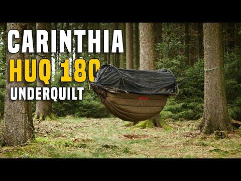 Carinthia HUQ 180 Underquilt Hängematten Isolation - Testbericht Gear Review