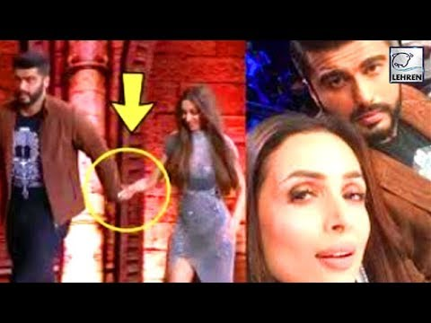 Arjun Kapoor And Malaika Arora Walk Hand-In-Hand P