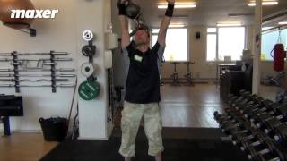 Kettlebell pushpress