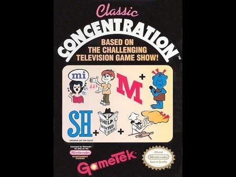 classic concentration nes online