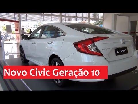 Veja detalhes do novo Civic Geração 10
