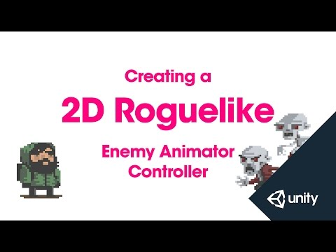unity how to use animation controller