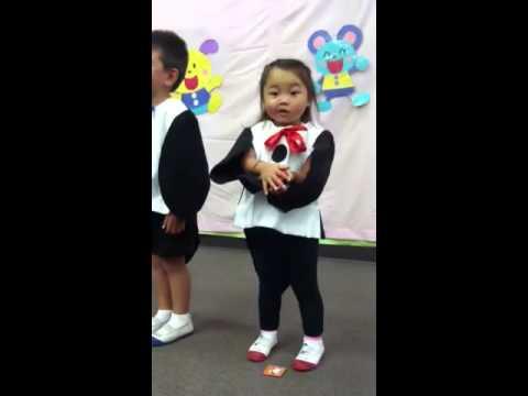2013年6月1日 つみき幼稚園卒園式発表会