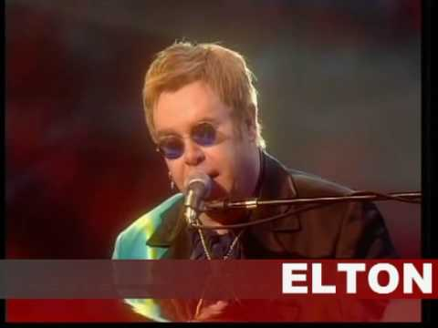 daniel - Elton performing Daniel at las vegas Caesars pallace collisium, don't shoot me i'm only the piano player album.