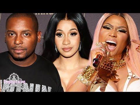 Nicki Minaj exposes DJ Self after he compares her to Cardi B | Mariah Lynn responds