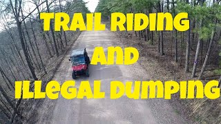 10. Riding the Trails On the Polaris Ranger Crew 570 and Illegal Dumping- Vlog 039