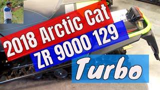 9. 2018 Arctic Cat ZR 9000 129 turbo showroom look