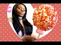 CANDY APPLE ASMR Eating Sounds/Valentines