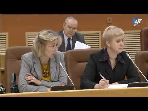 В новгородской мэрии состоялось заседание комиссии городской Думы по социальным вопросам