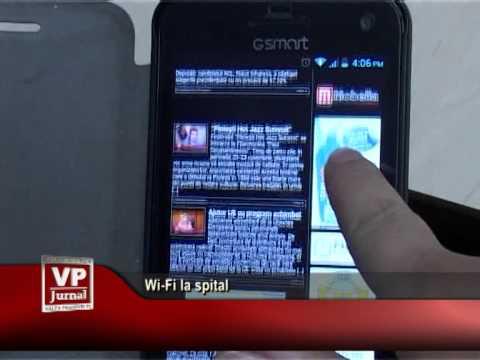Wi-Fi la spital