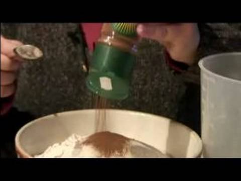 Gingerbread Man Recipe : Dough Ingredients for Making a Gingerbread Man