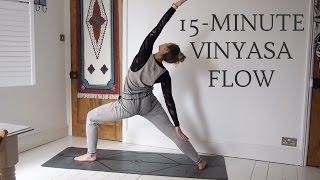 Video 15 MINUTE VINYASA FLOW | All Levels Yoga | CAT MEFFAN MP3, 3GP, MP4, WEBM, AVI, FLV Maret 2018
