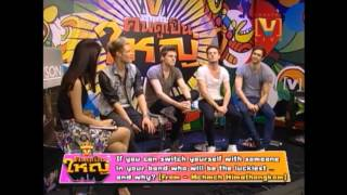 Lawson On Channel V Thailand Interview Part 2