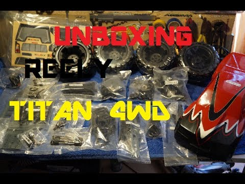 UNBOXING Reely Titan Monster Truck 4WD KIT