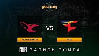 mousesports vs FaZe - Dreamhack Malmo 2017 - de_mirage [CrystalMay, ceh9]