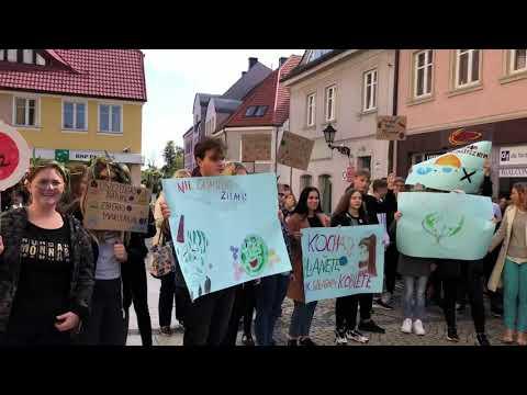 Wideo: Młodzieżowy strajk klimatyczny w Polkowicach