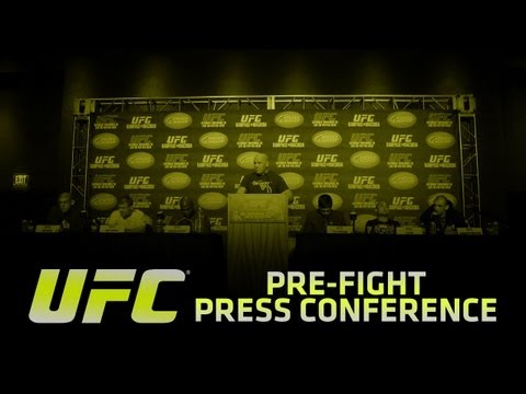 Pre - Watch the UFC 158 pre-fight press conference live on Thursday, March 14th at 1pm ET/10am PT.
