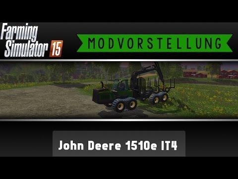 John Deere 1510e IT4 v2.0 mit Kran Verfolgung